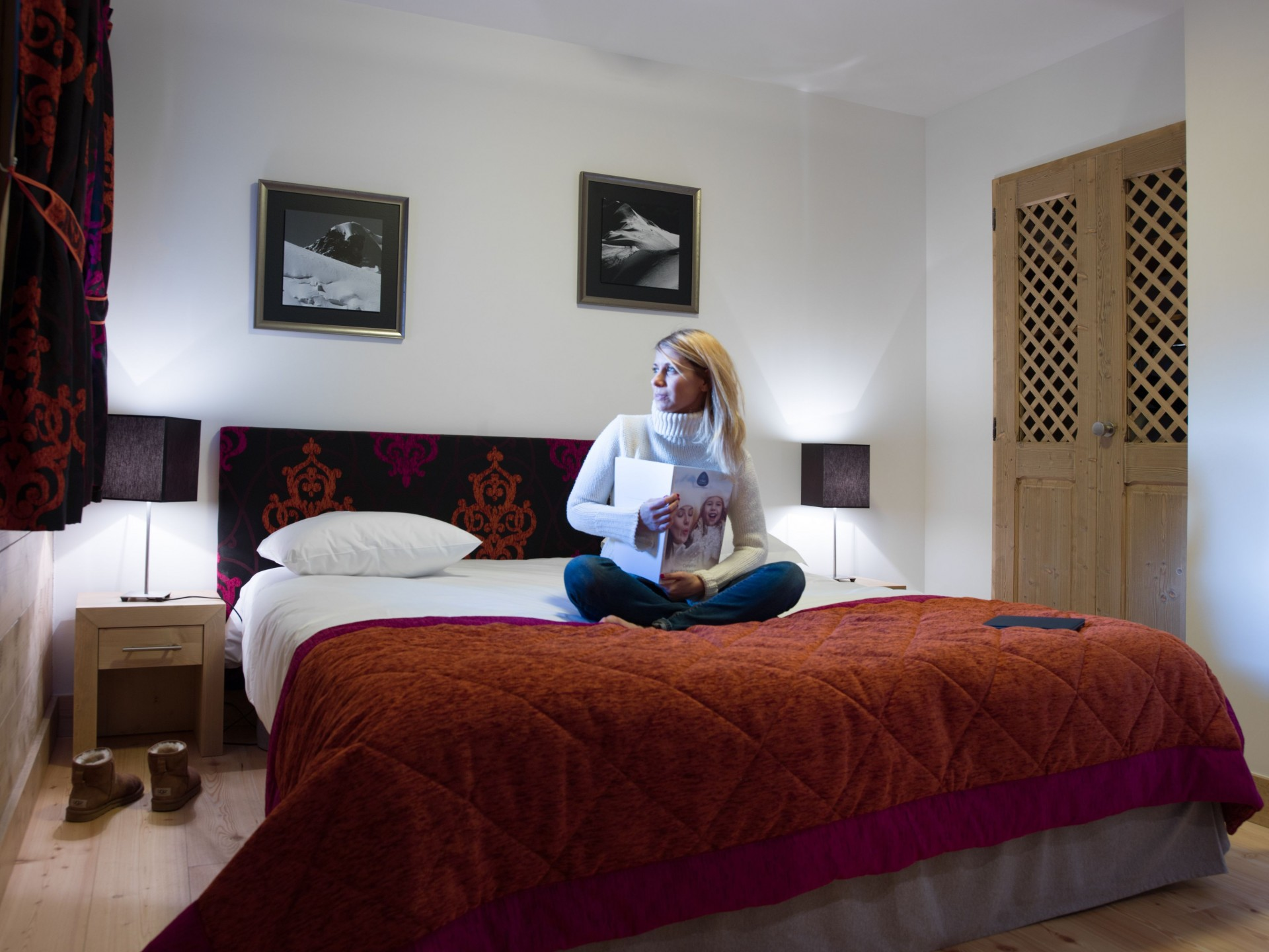 Samoëns Location Appartement Luxe Saléite Chambre