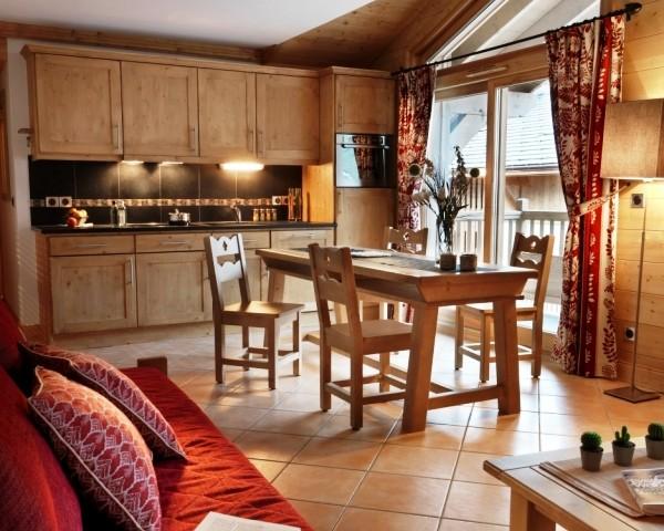 Samoens Location Appartement Luxe Salis Duplex Cuisine