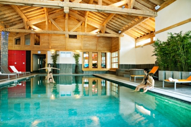 Samoens Location Appartement Luxe Salis Duplex Piscine