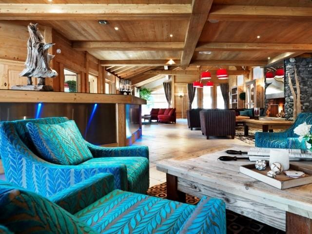 Samoens Location Appartement Luxe Salis Duplex Réception
