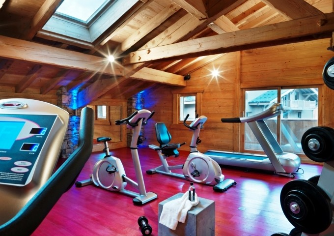 Samoens Location Appartement Luxe Salis Duplex Salle De Fitness