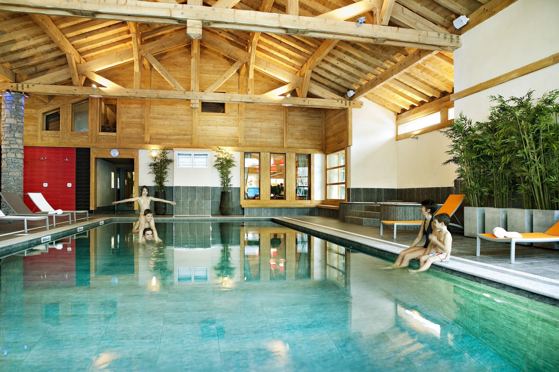 Samoens Location Appartement Luxe Salis Piscine