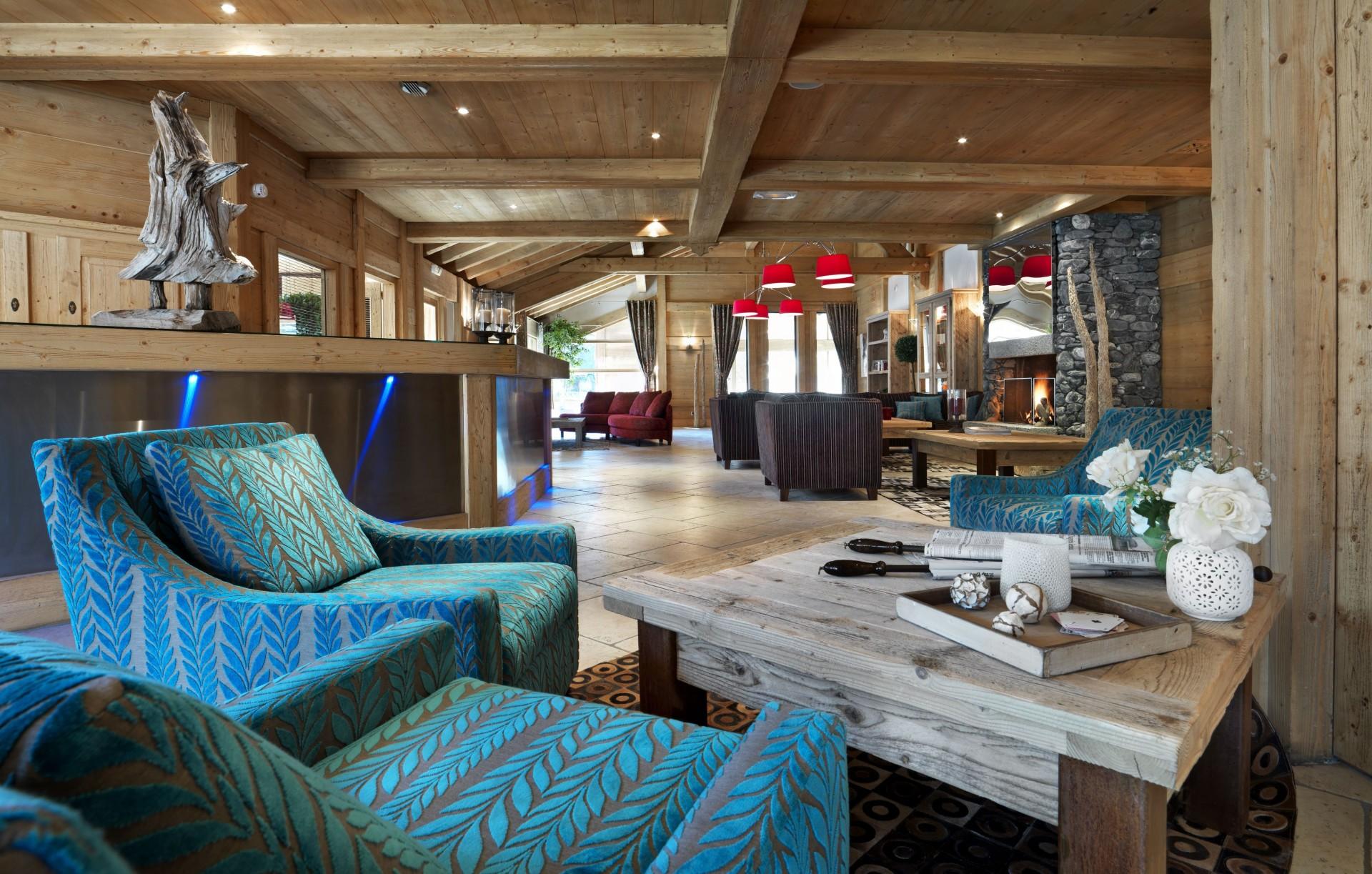 Samoens Location Appartement Luxe Salis Réception 1