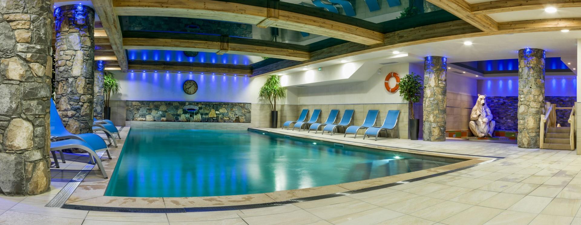 Samoëns Location Appartement Luxe Saluite Piscine