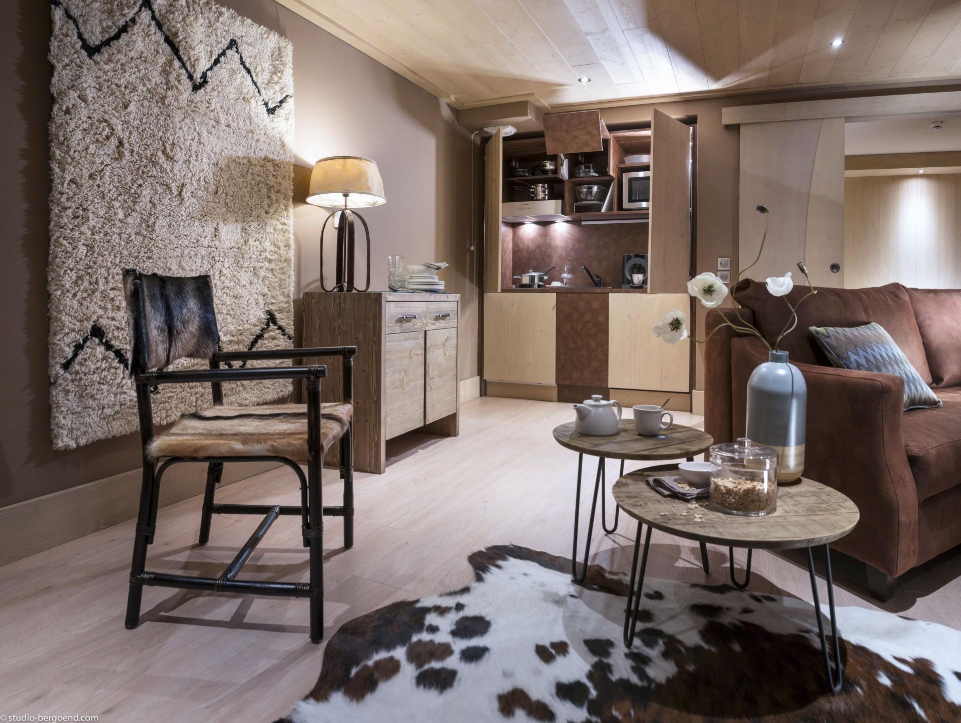 Tignes Rental Appartment Luxury Kyanite Kitchen