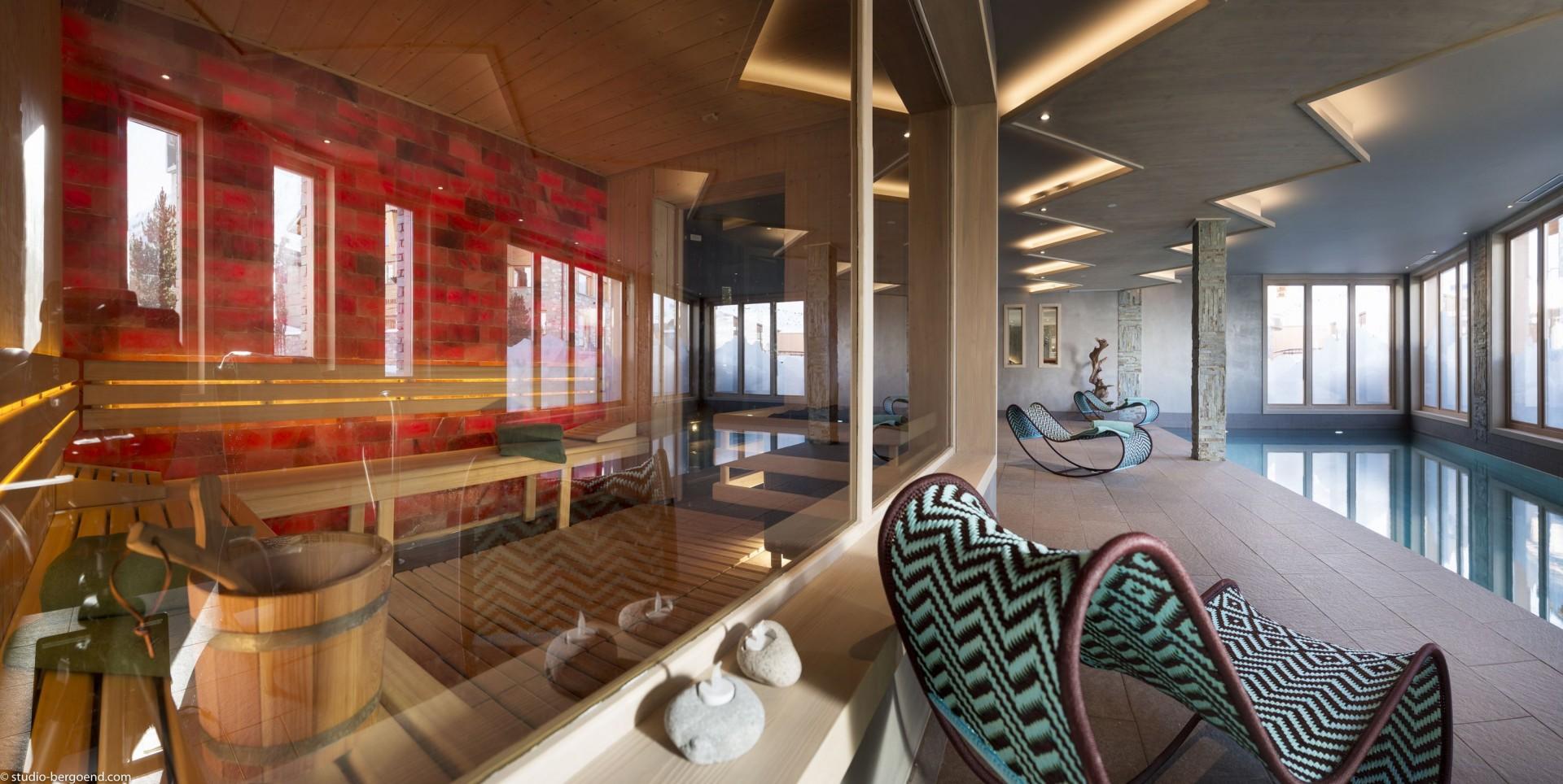 Tignes Location Appartement Luxe Kyaunite Sauna