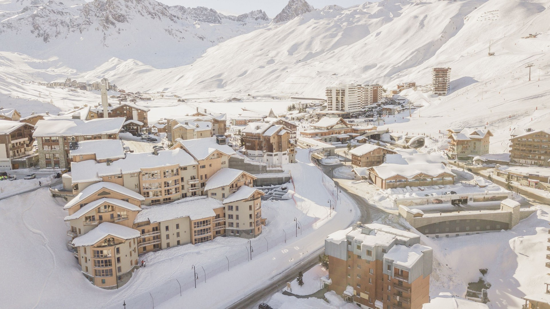 Tignes Location Appartement Luxe Kyonite Vue Paysage