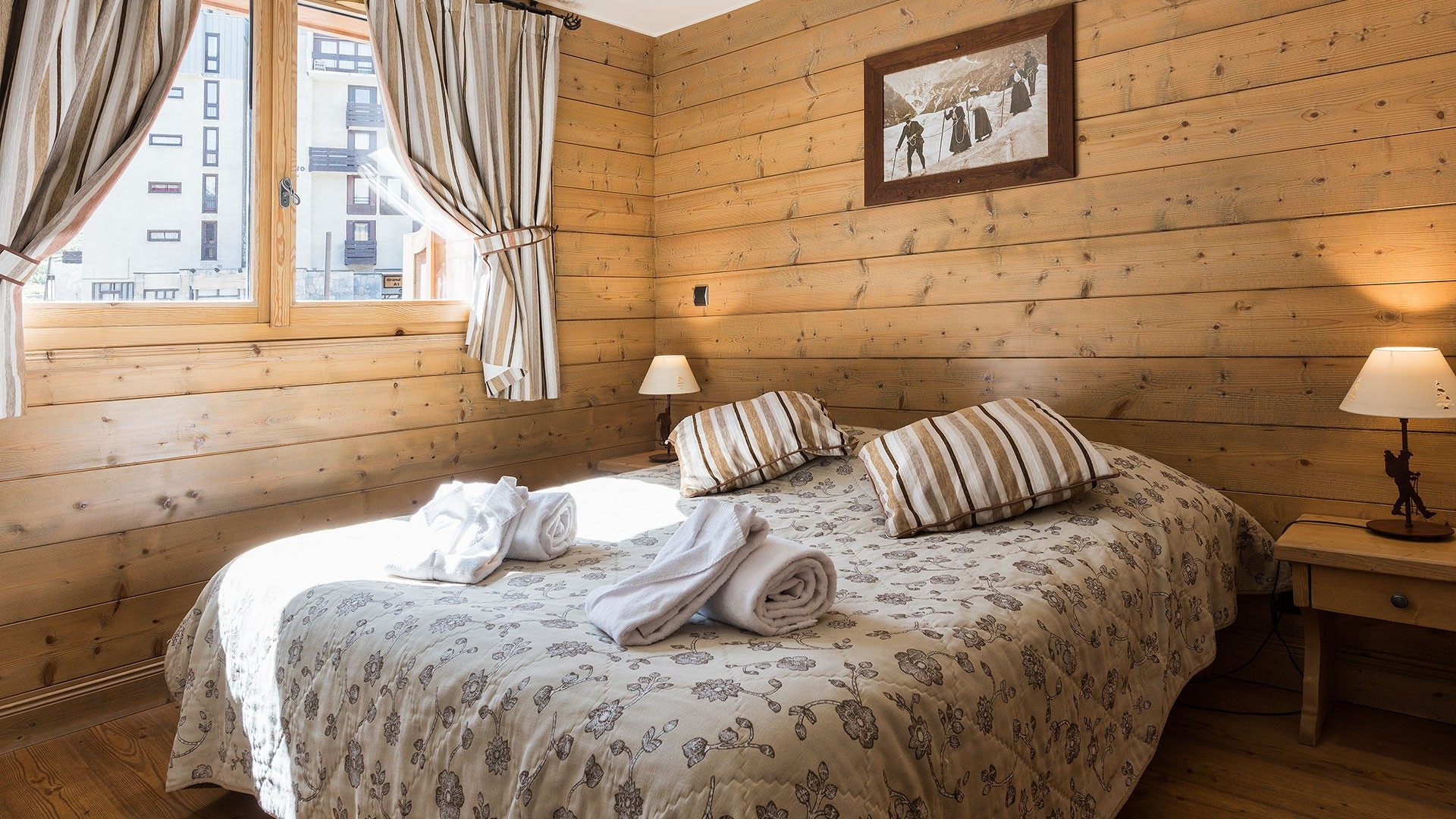 Tignes Location Appartement Luxe Mexican Agate Chambre