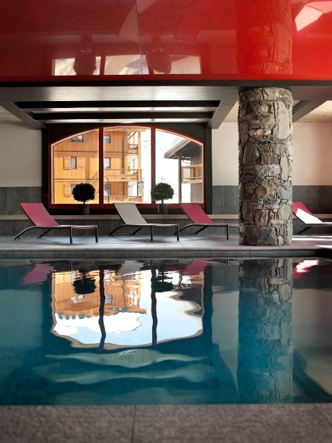 Tignes Location Appartement Luxe Mexican Jade Duplex Piscine