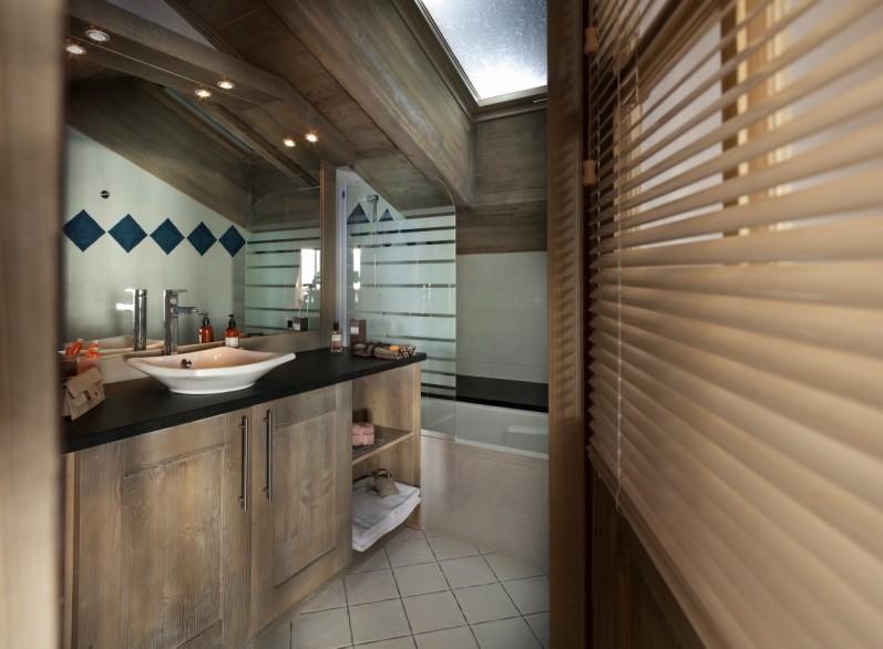 Tignes Location Appartement Luxe Mexican Onyx Duplex Salle De Bain