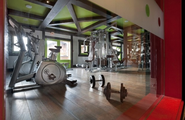 Tignes Location Appartement Luxe Mica Salle De Fitness