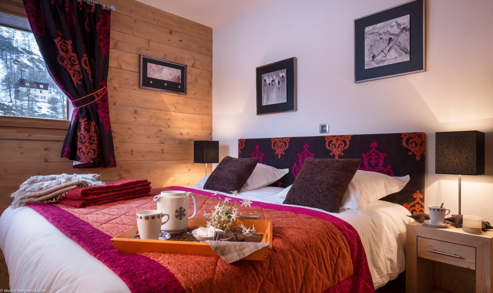 Tignes Location Appartement Luxe Micatis Chambre