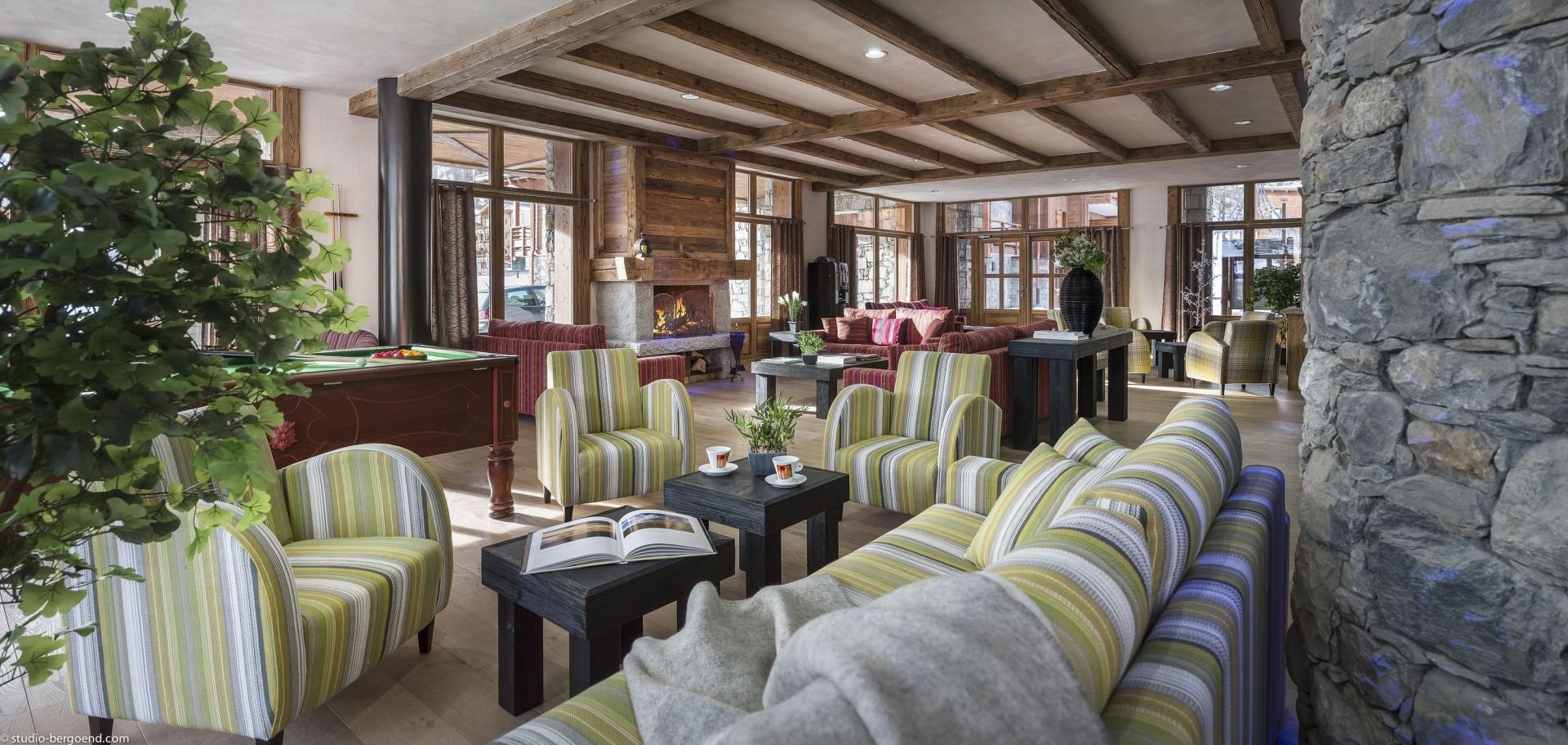 Tignes Location Appartement Luxe Micatis Réception