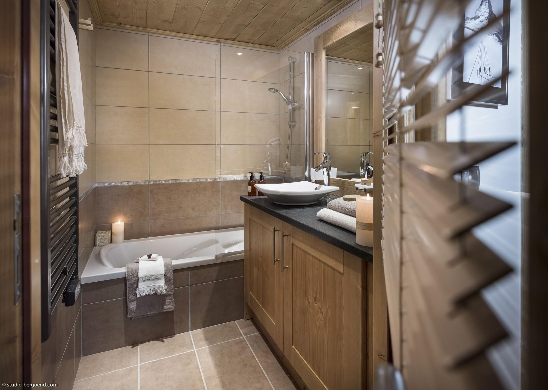 Tignes Location Appartement Luxe Micato Duplex Salle De Bain