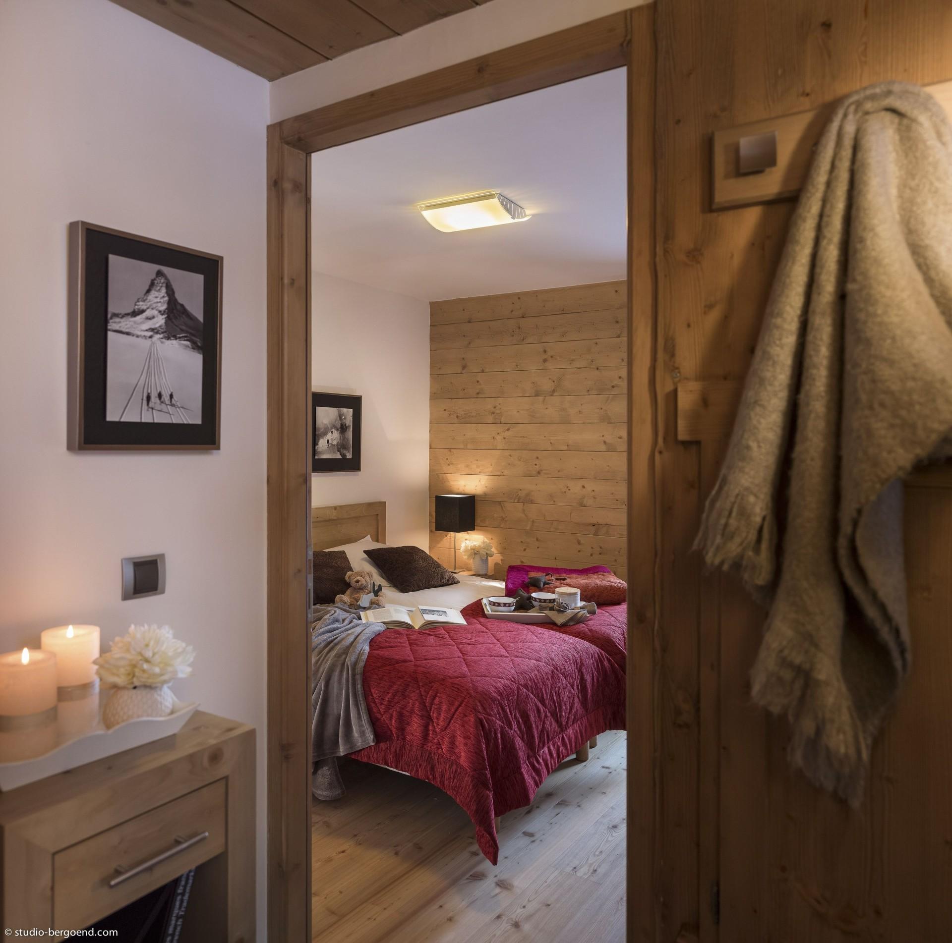 Tignes Location Appartement Luxe Micaty Chambre 1