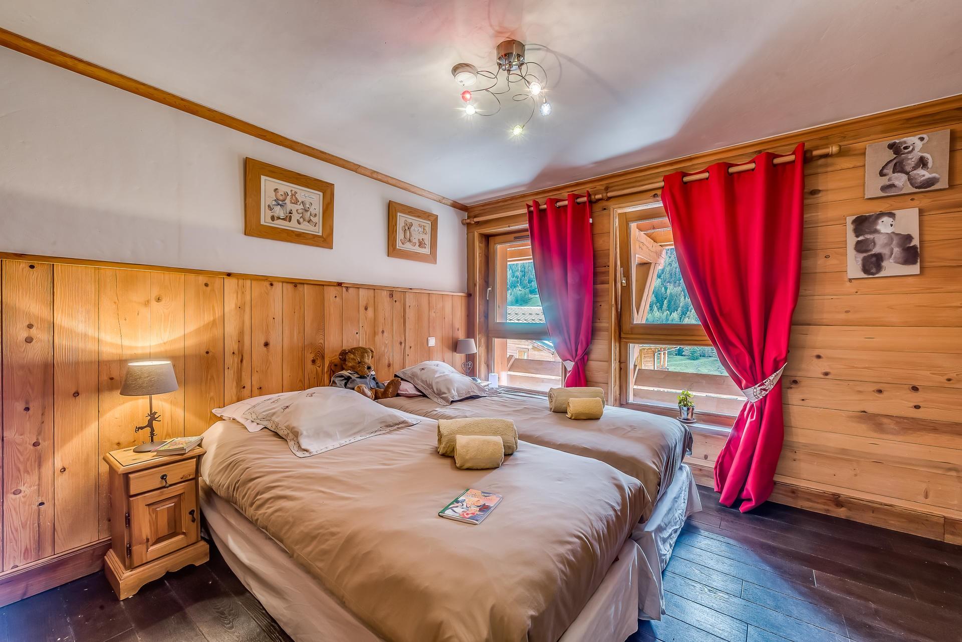 Tignes Location Chalet Luxe Agrezite Chambre2