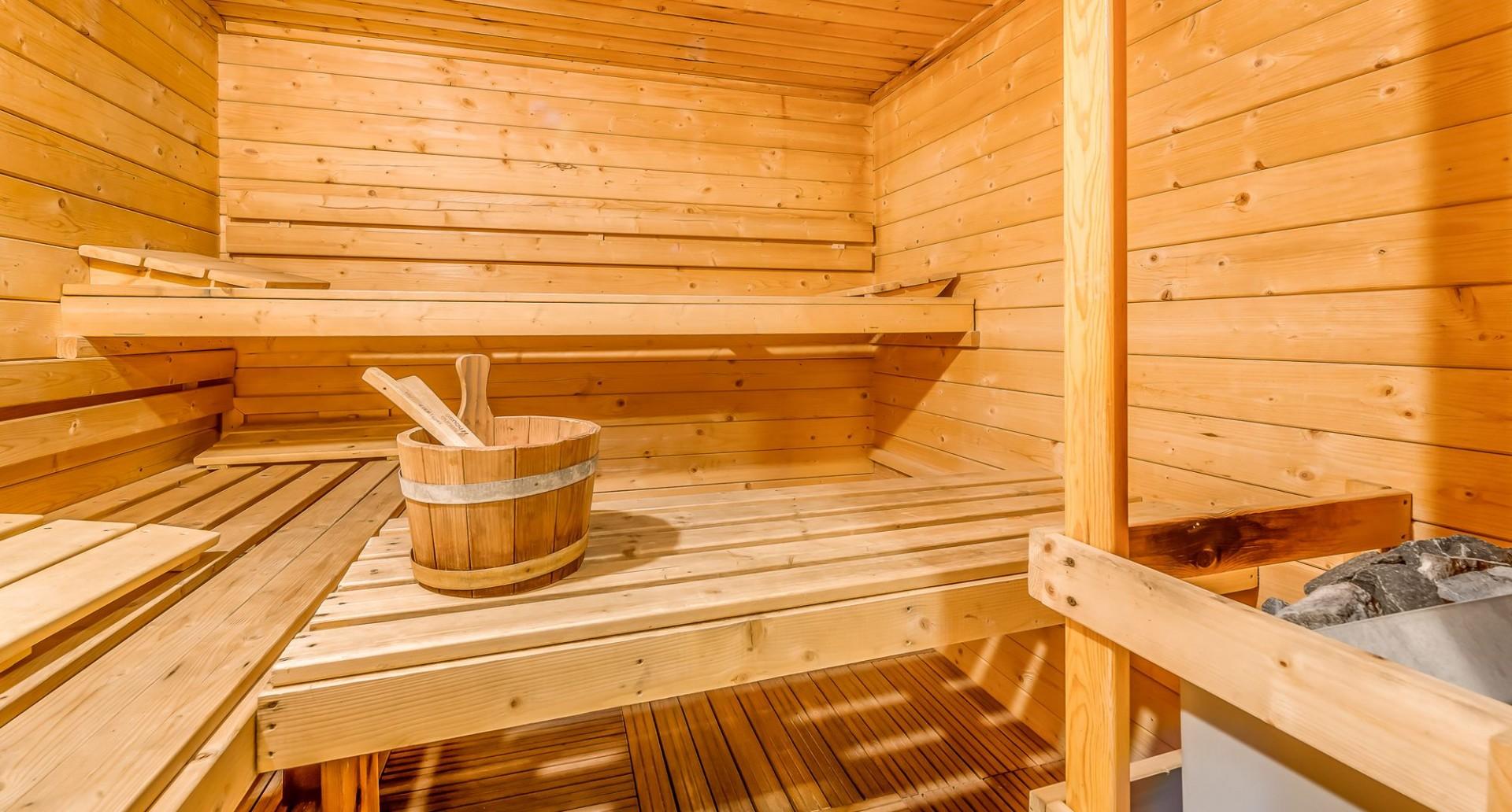 Tignes Location Chalet Luxe Agrezite Sauna