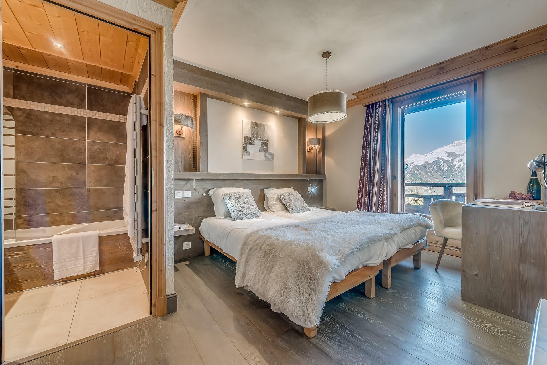 Tignes Location Chalet Luxe Annikite Chambre1