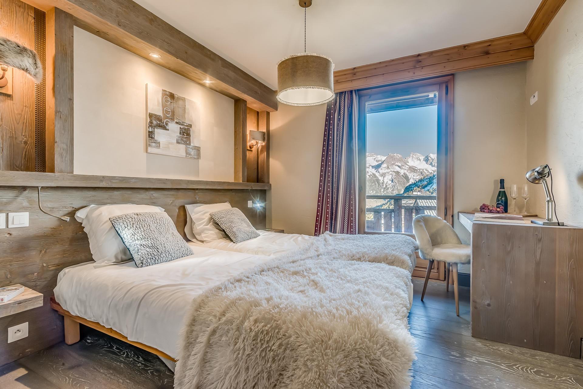 Tignes Location Chalet Luxe Annikite Chambre2