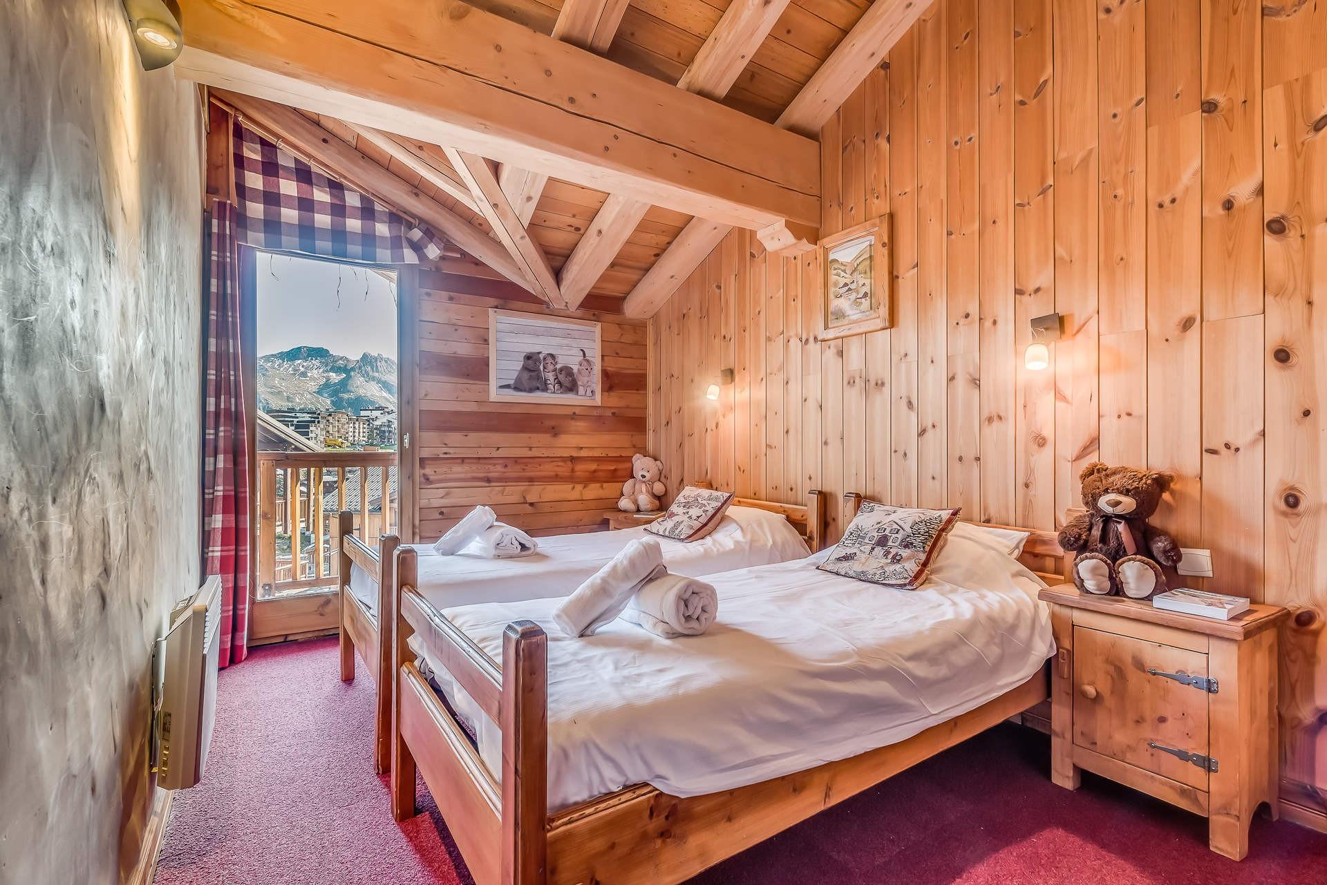 Tignes Location Chalet Luxe Gikite Chambre