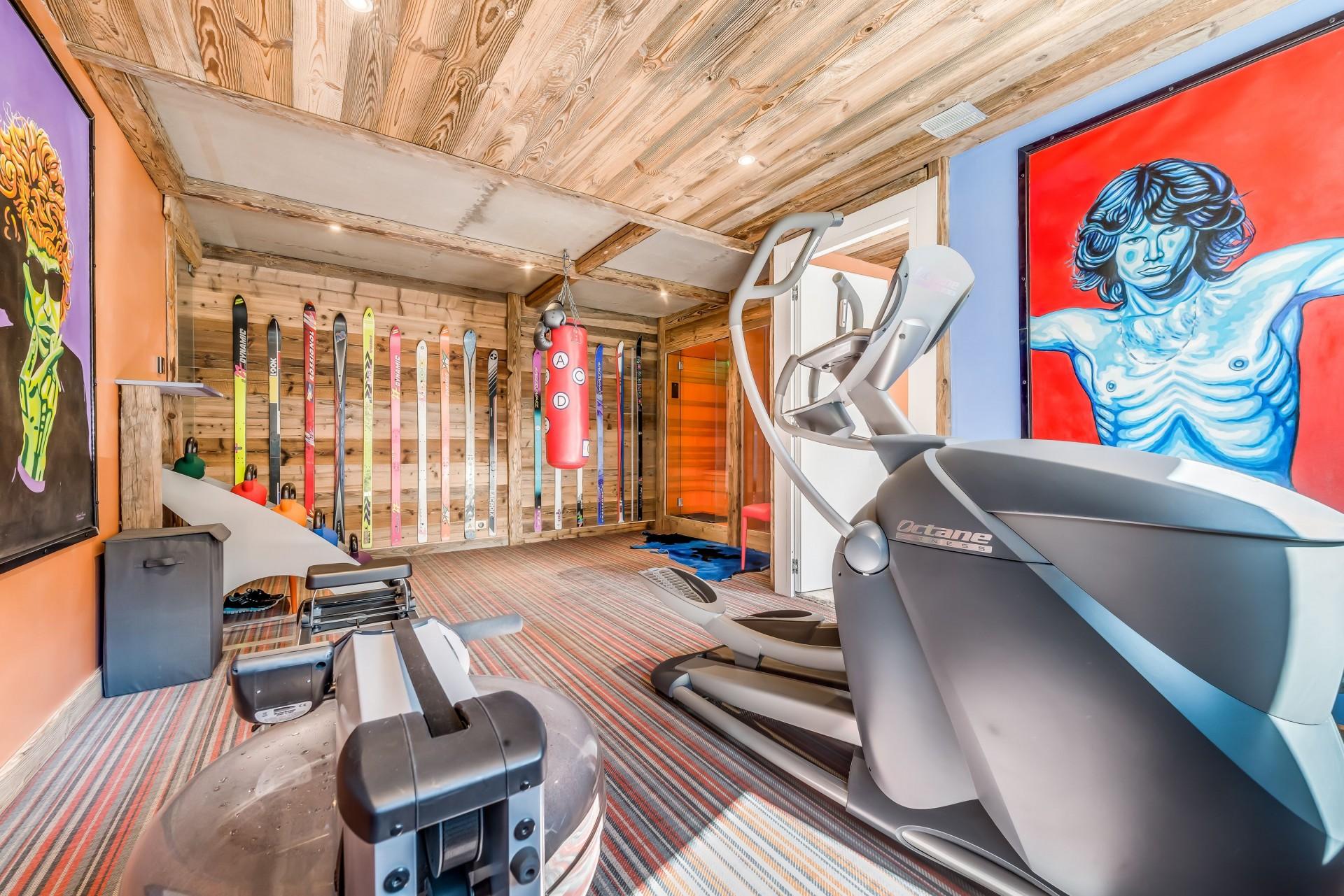 Tignes Location Chalet Luxe Quinine Espace Fitness3