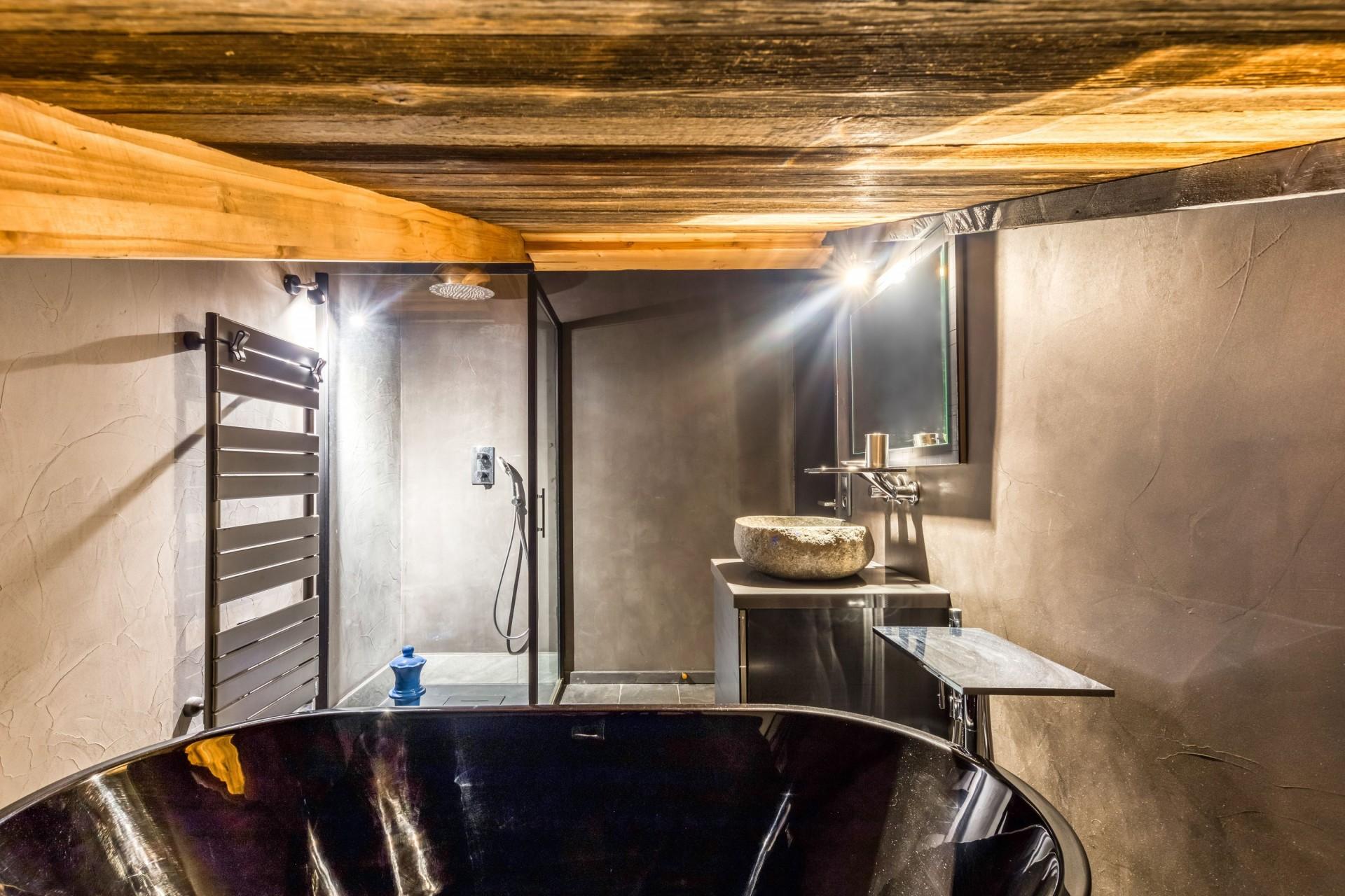 Tignes Location Chalet Luxe Tavanite Salle De Bain3