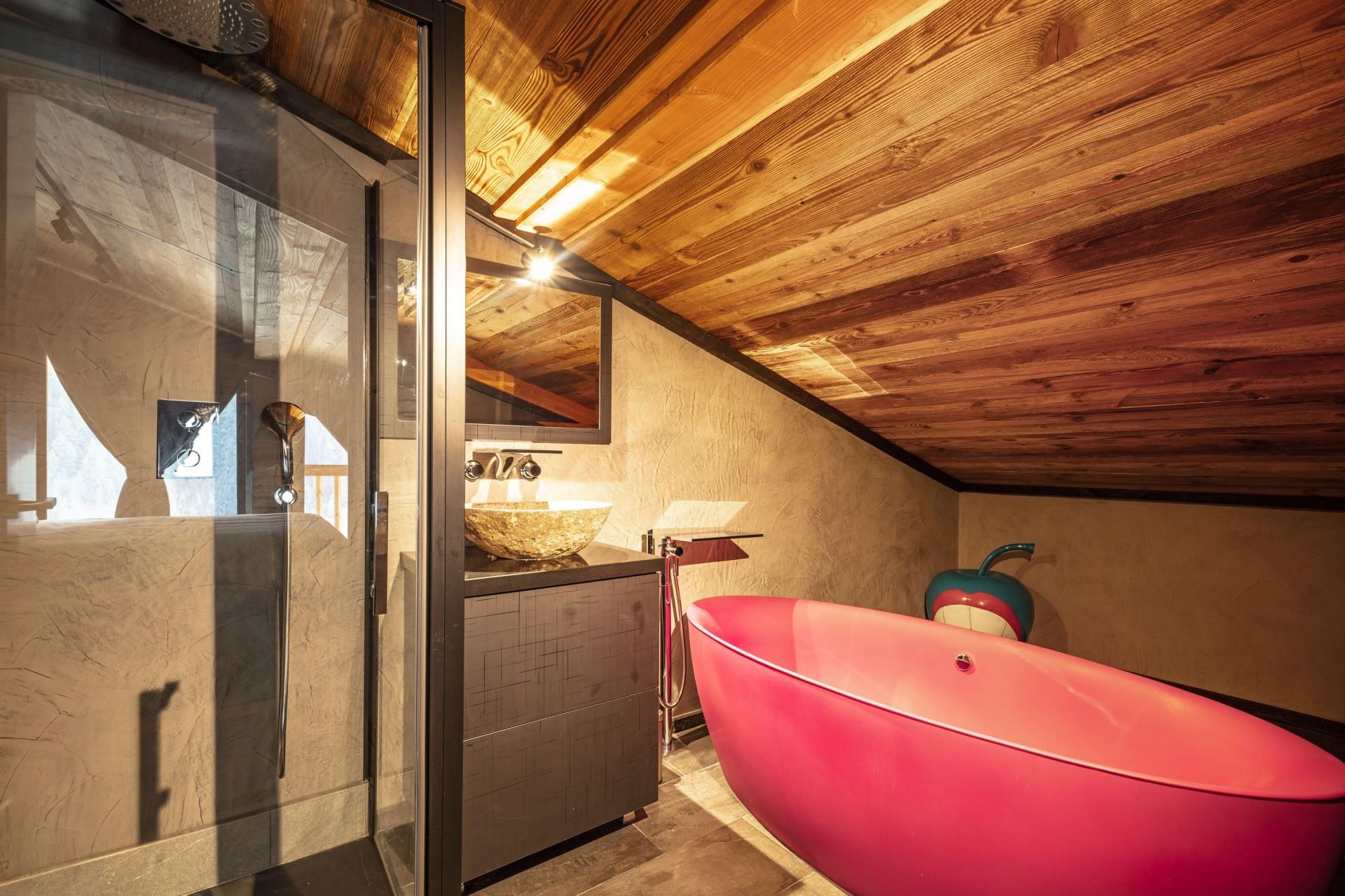 Tignes Location Chalet Luxe Tavanite Salle De Bain5