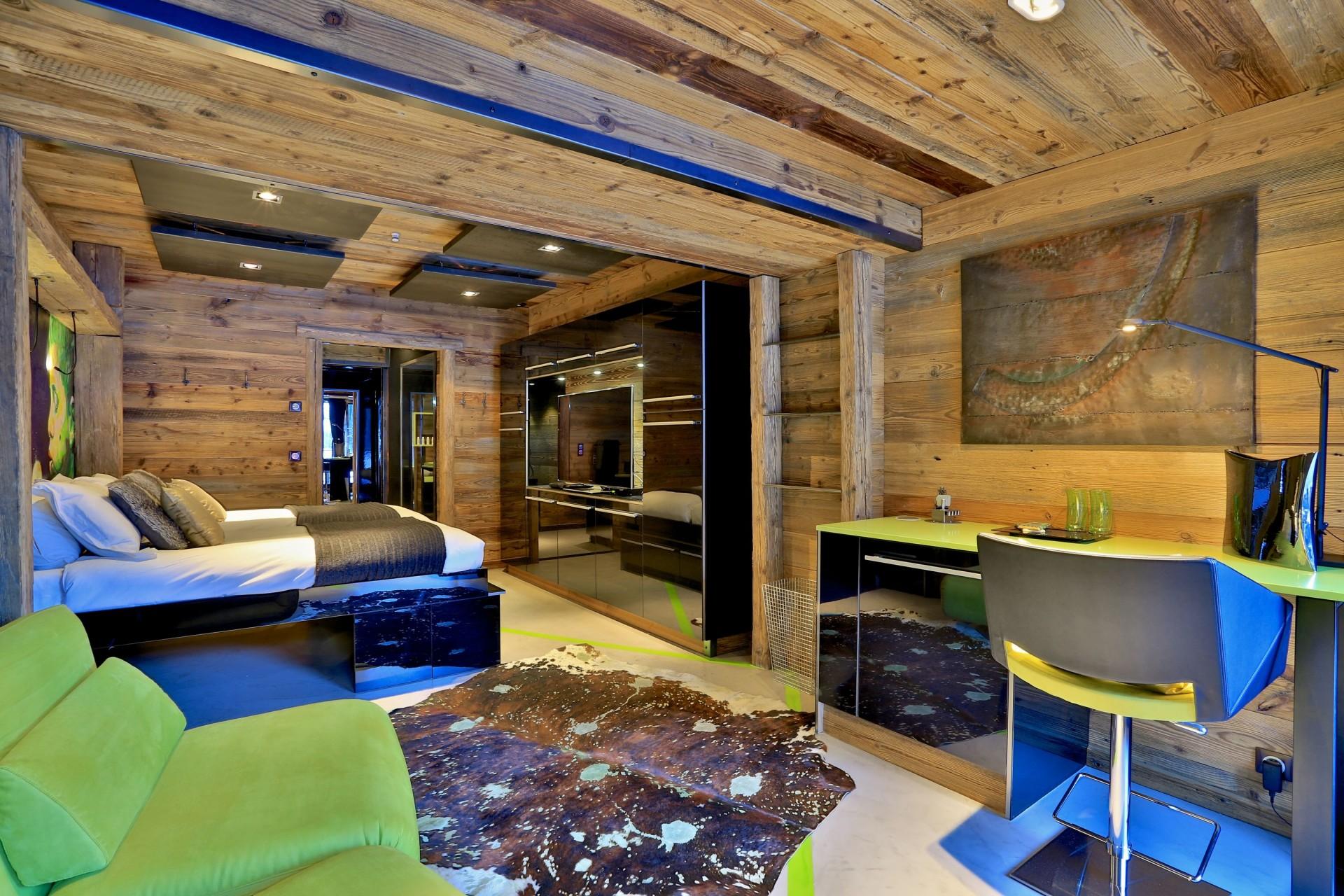 Tignes Location Chalet Luxe Tirodite Chambre2