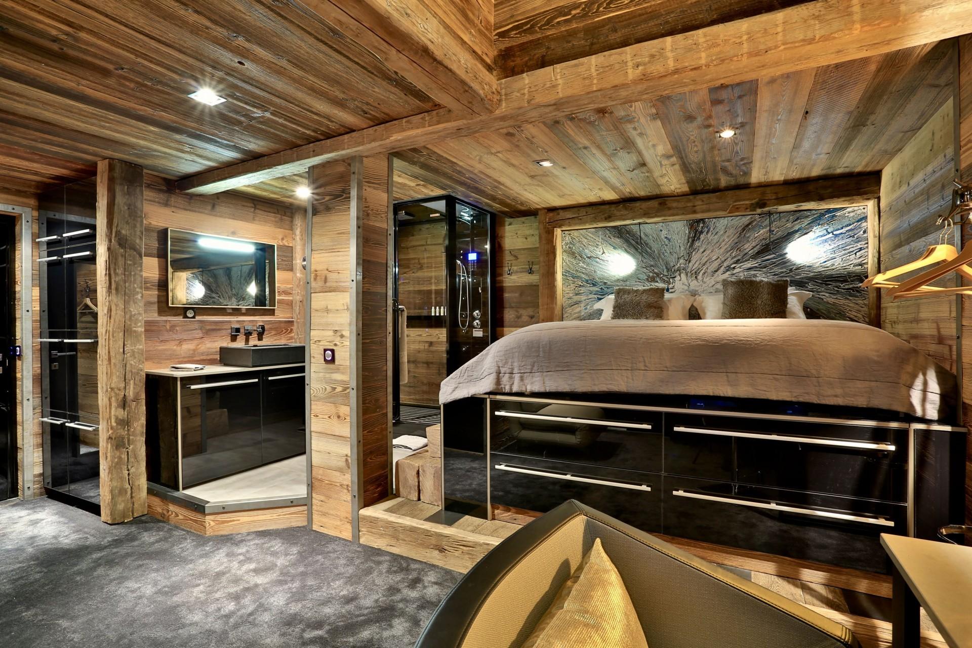 Tignes Location Chalet Luxe Tirodite Chambre6