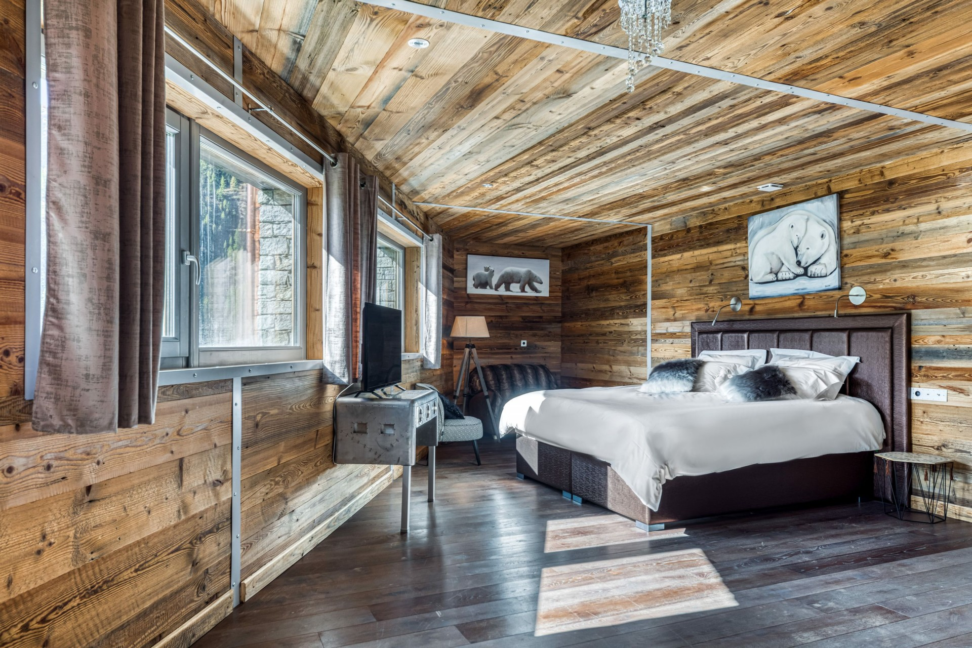 Tignes Location Chalet Luxe Turquoize Chambre5