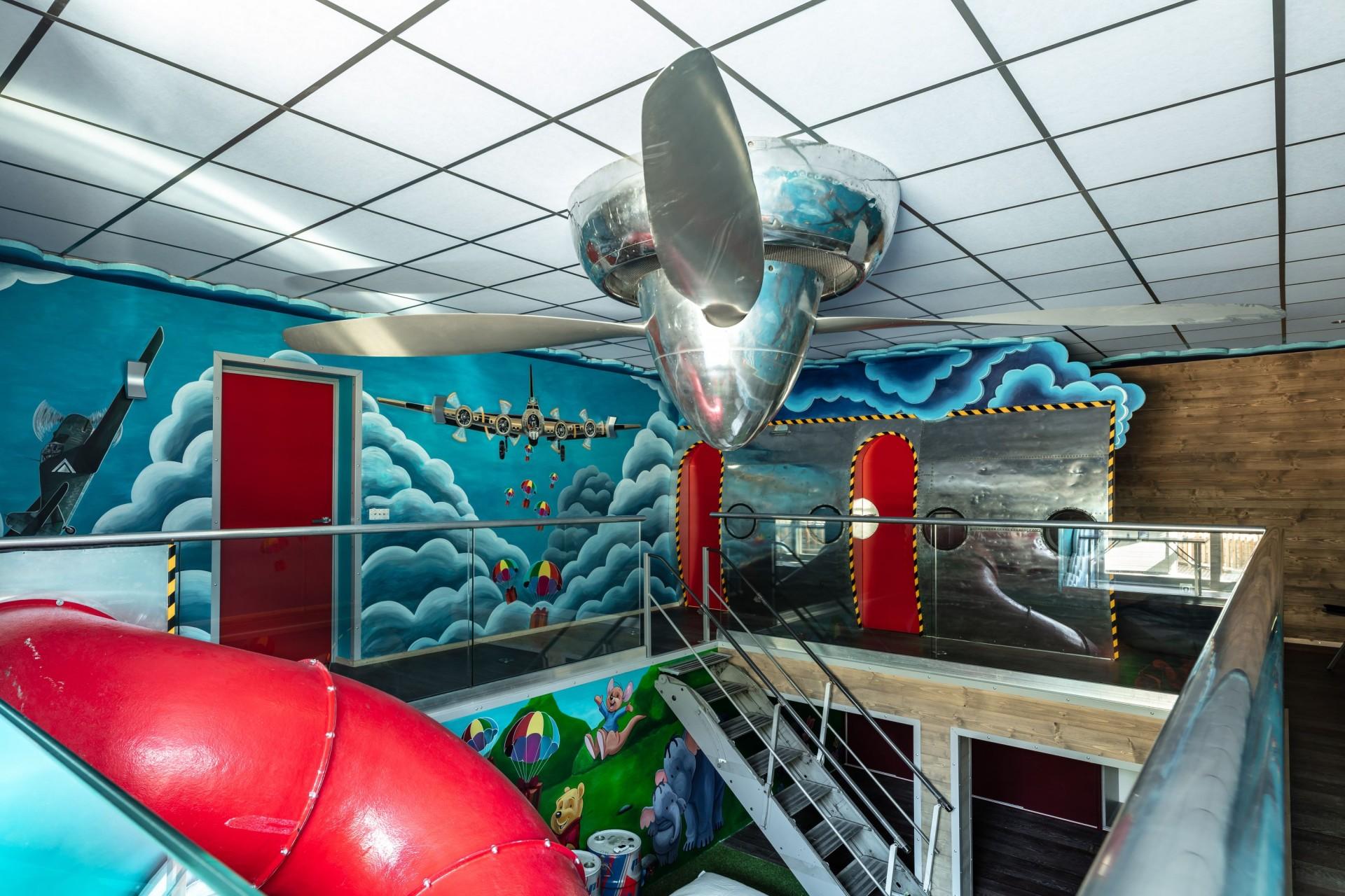 Tignes Location Chalet Luxe Turquoize Espace Enfants