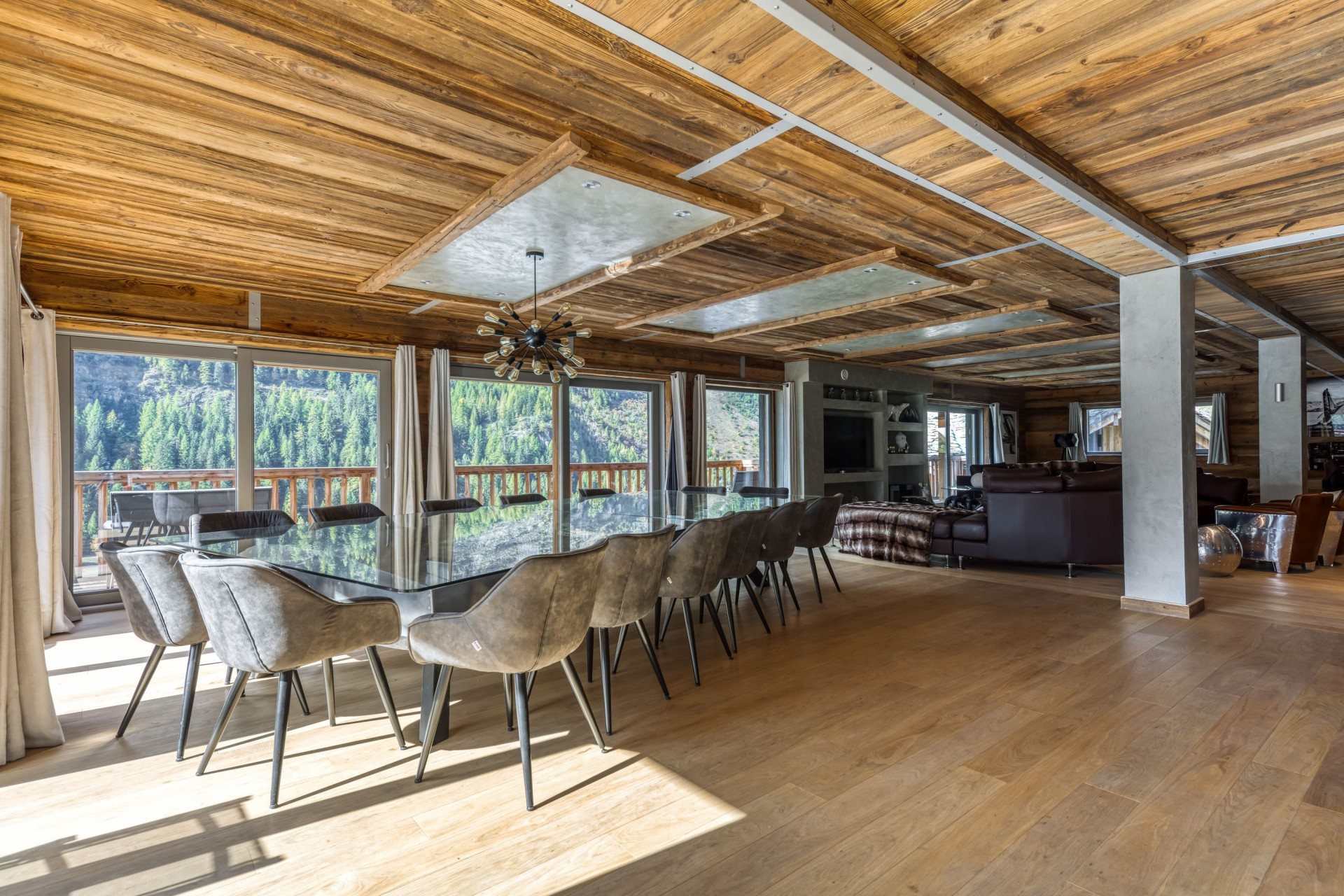 Tignes Location Chalet Luxe Turquoize Salle A Manger2