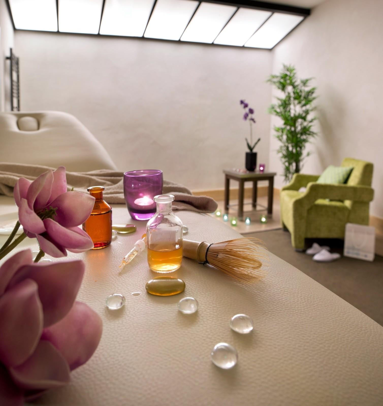 Val Cenis Location Appartement Luxe Verre Saphir Massage