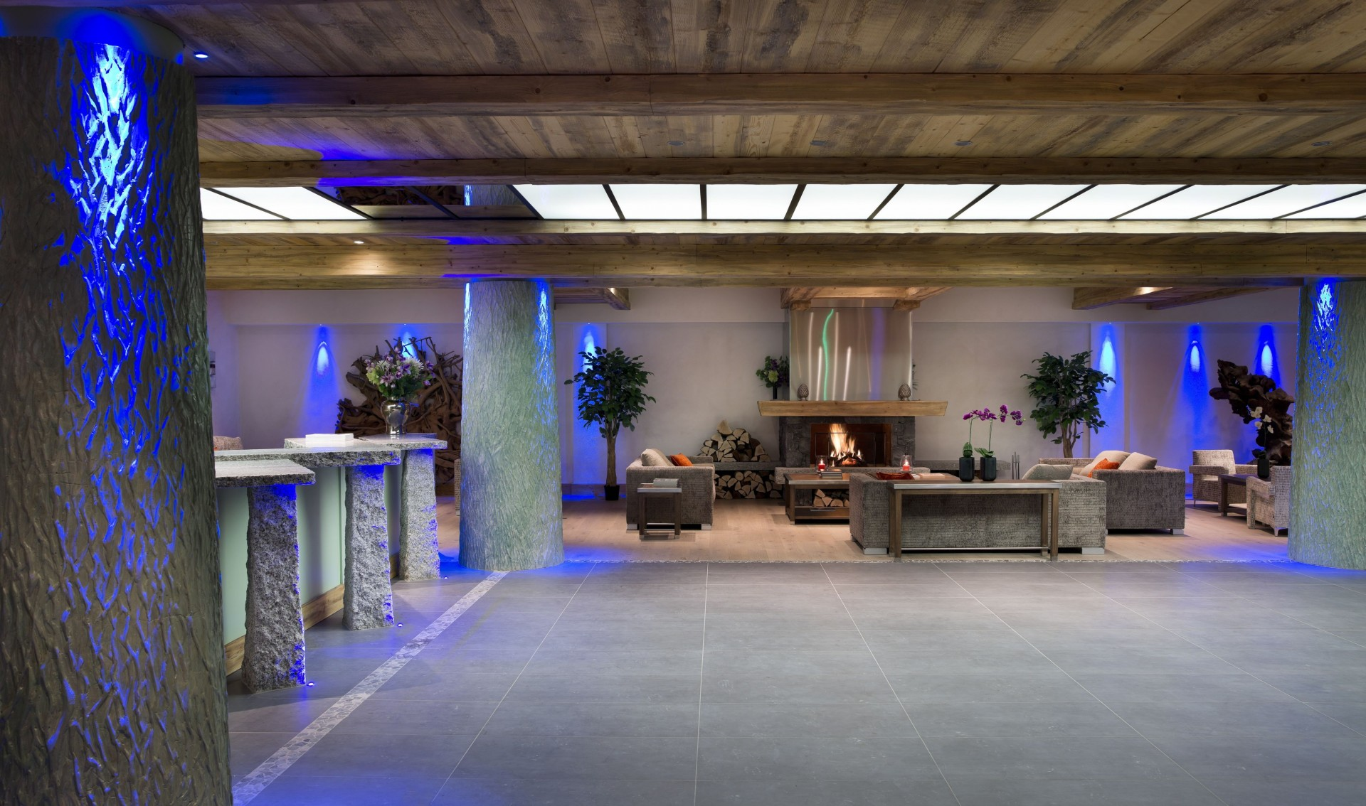 Val Cenis Location Appartement Luxe Verre Saphir Réception 1