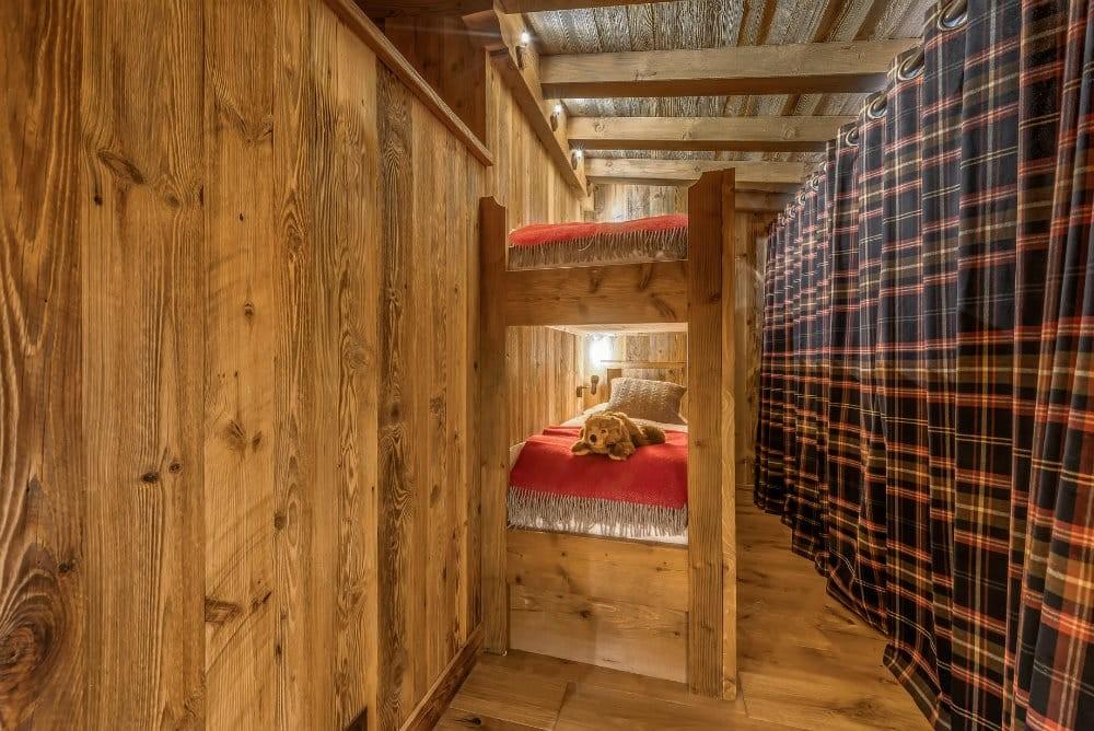Val D'Isère Location Appartement Dans Résidence Luxe Elina Chambre Enfants