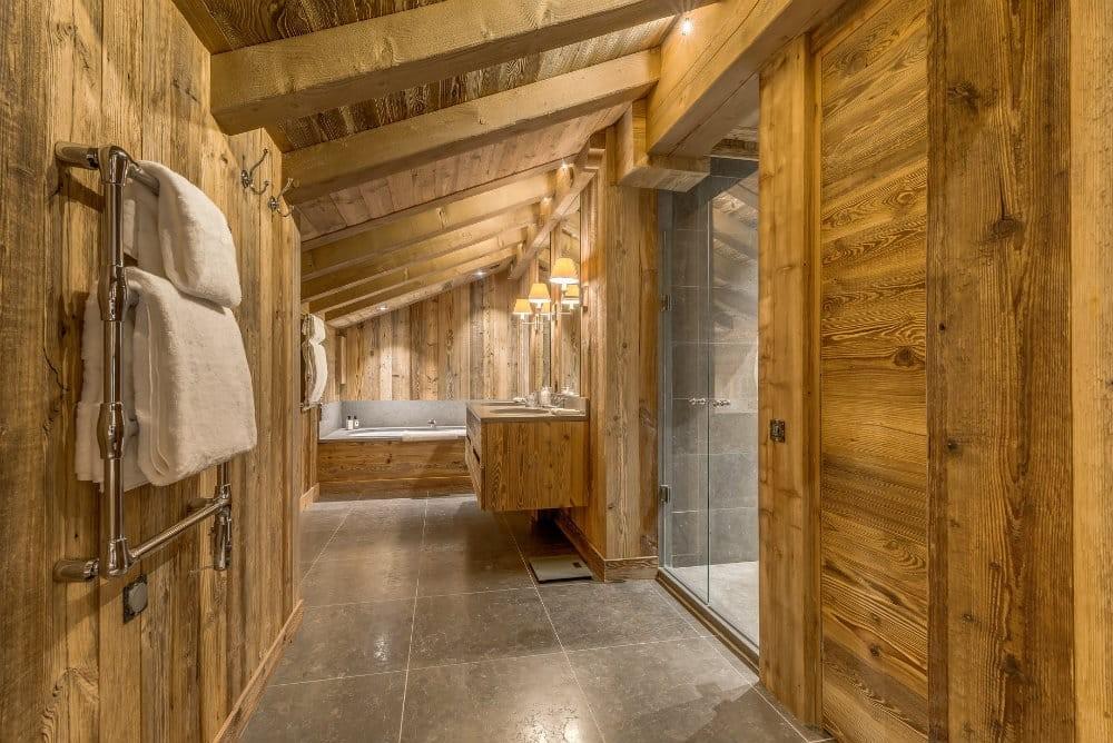 Val D'Isère Location Appartement Dans Résidence Luxe Elina Salle De Bain 1
