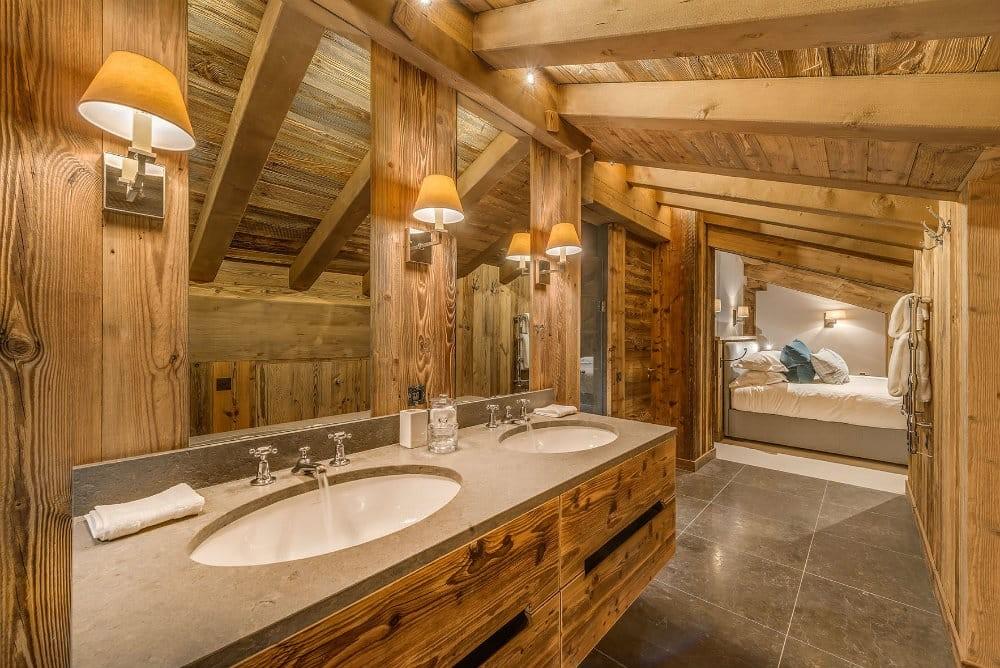 Val D'Isère Location Appartement Dans Résidence Luxe Elina Salle De Bain Ensuite