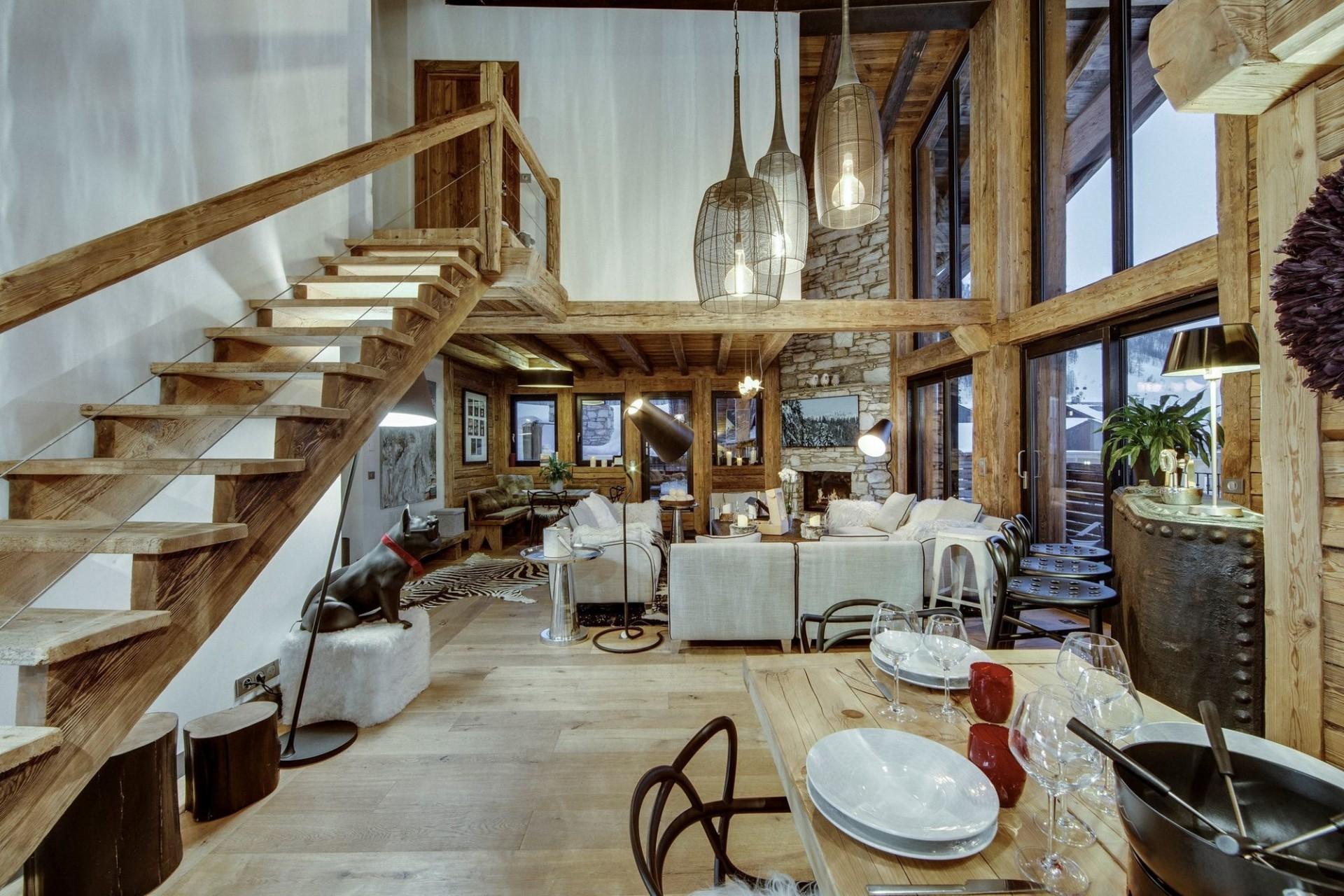 Val d'Isère Location Appartement Luxe Aramias Séjour 5