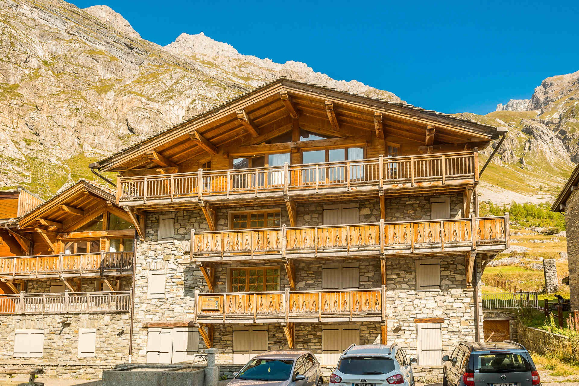Val d'Isère Location Appartement Luxe Crankite Extérieur