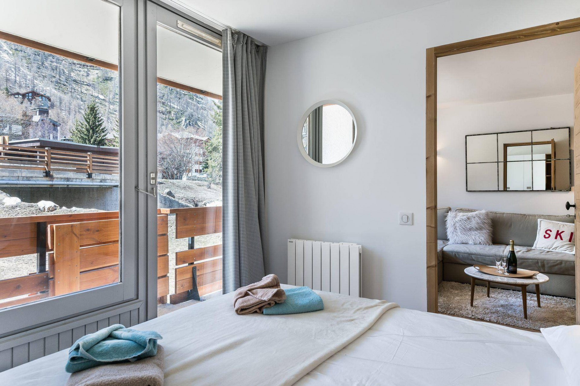 Val d'Isère Luxury Rental Appartment Eclaite Bedroom