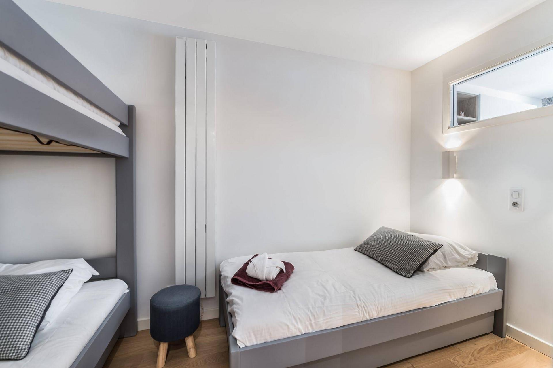 Val d'Isère Luxury Rental Appartment Eclaite Bedroom 3