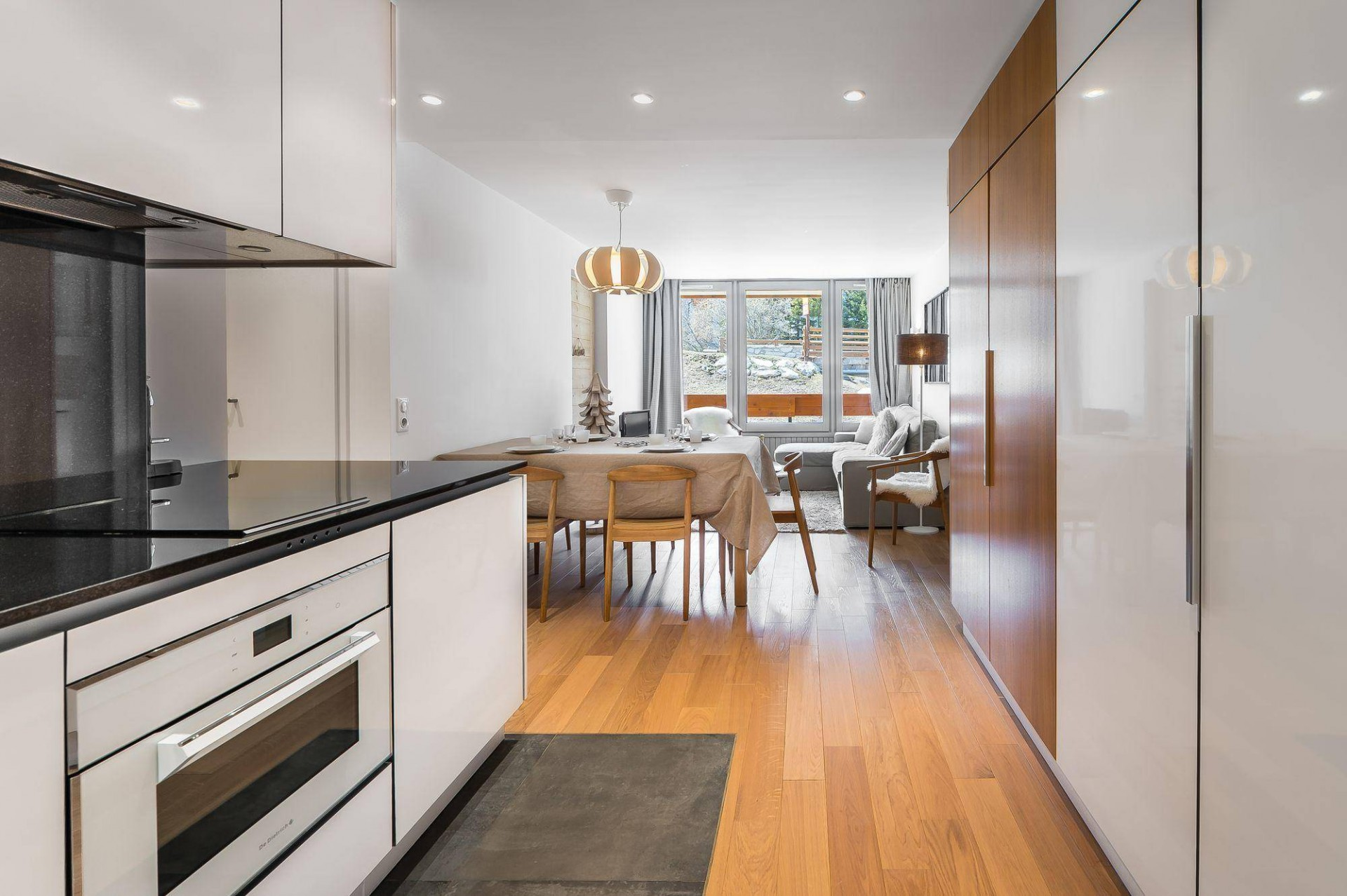 Val d'Isère Luxury Rental Appartment Eclaite Kitchen
