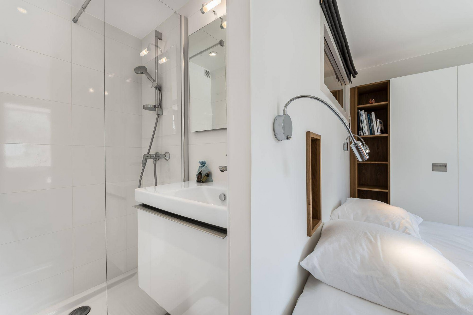 Val d'Isère Luxury Rental Appartment Eclaite Bathroom