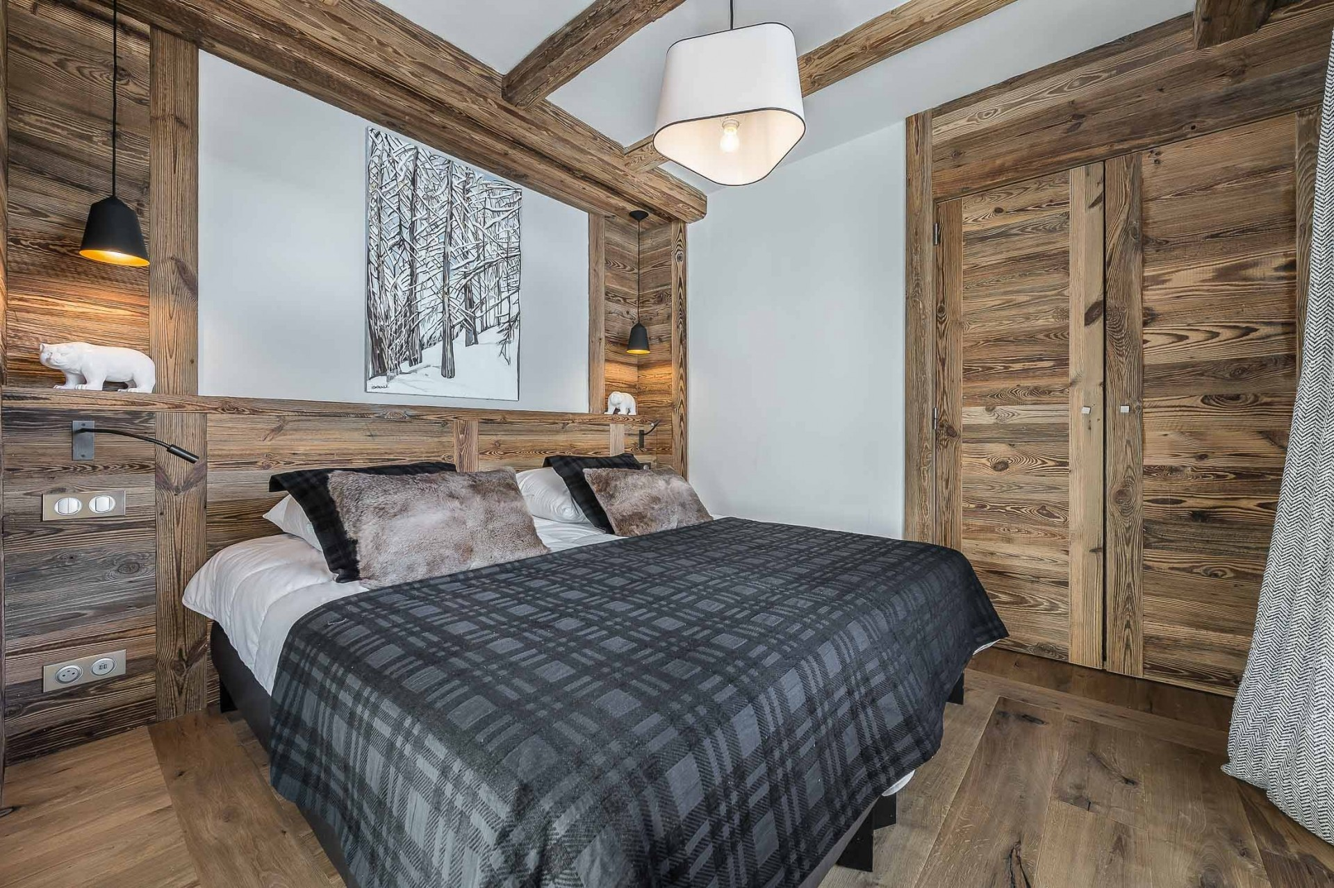 Val d'Isère Location Appartement Luxe Ucelite Chambre 4