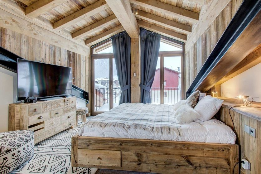 Val d'Isère Location Appartement Luxe Ulalite Chambre 3