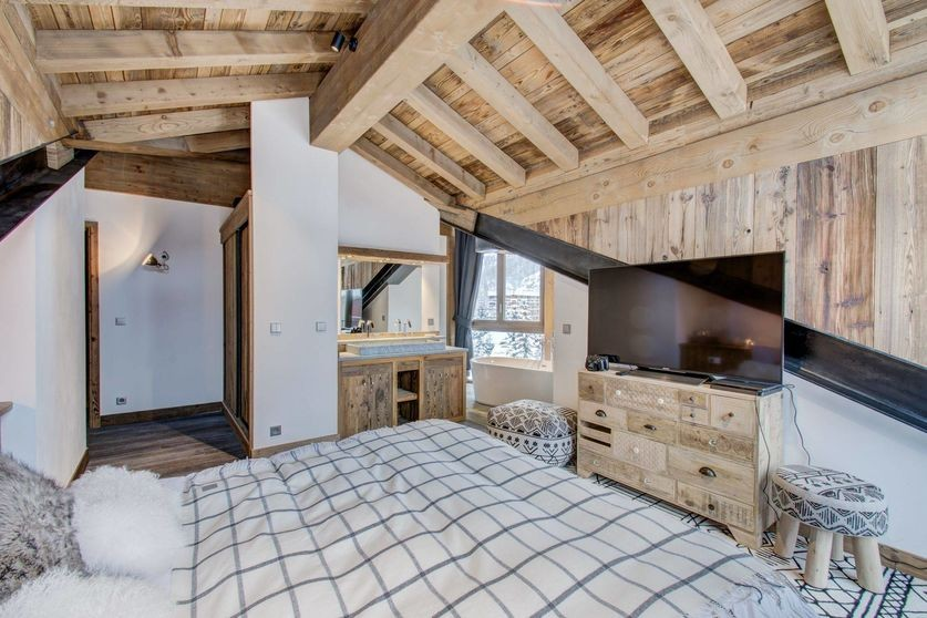 Val d'Isère Location Appartement Luxe Ulalite Chambre 5