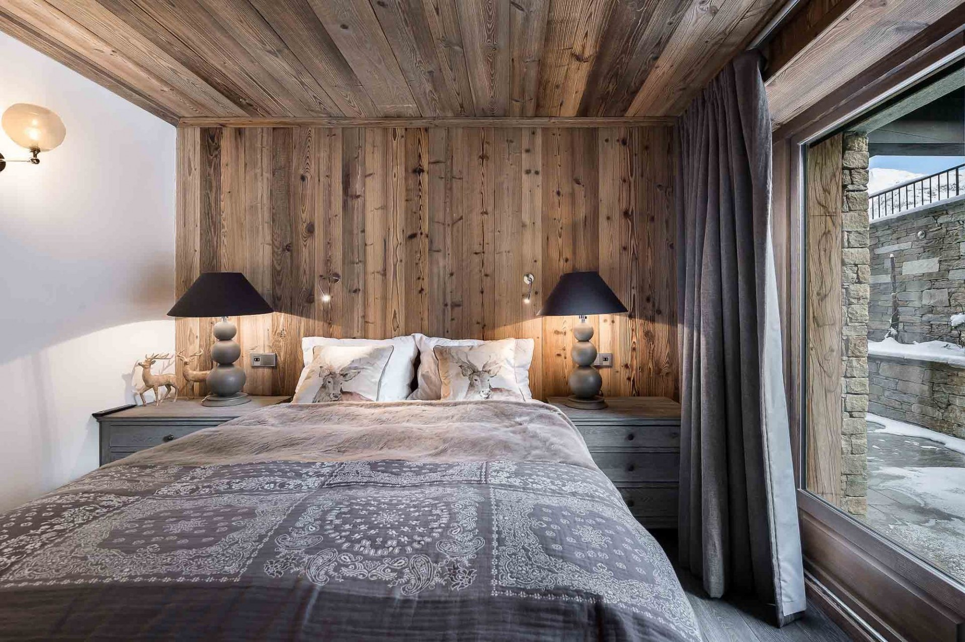 Val d'Isère Location Appartement Luxe Ulilite Chambre 2
