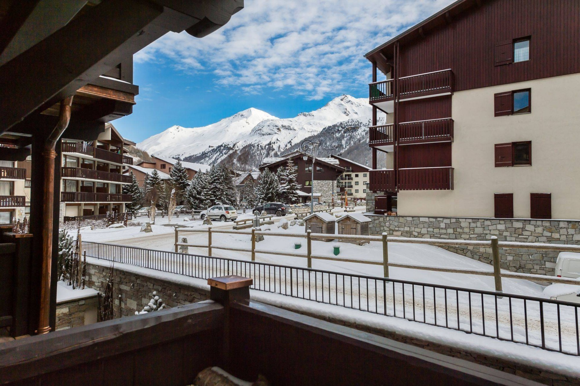 Val d'Isère Location Appartement Luxe Ululite Balcon