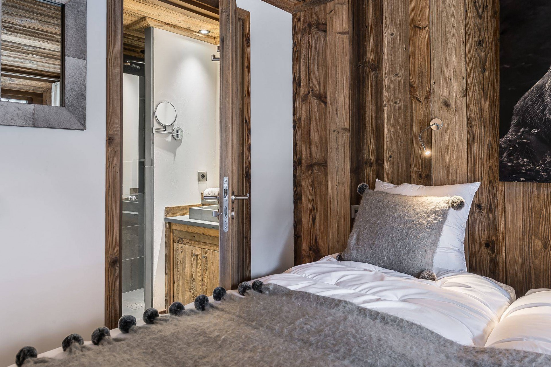 Val d'Isère Location Appartement Luxe Ululite Chambre