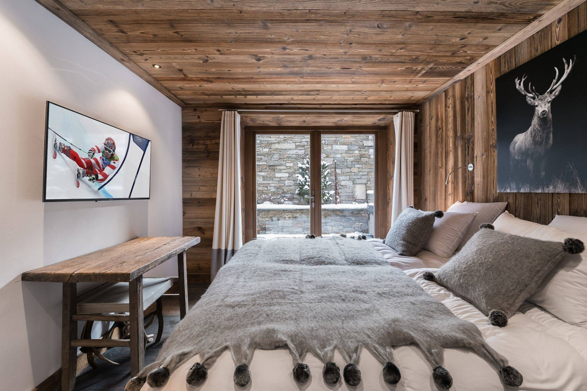Val d'Isère Location Appartement Luxe Ululite Chambre 3